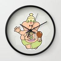 ganesha Wall Clocks featuring Ganesha by Andrés Diplotti
