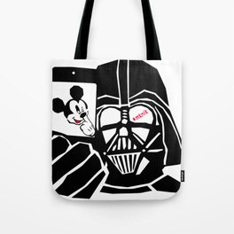 Take the mickey out of the dark Tote Bag