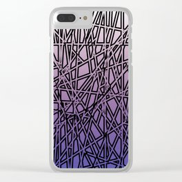 Shards Clear iPhone Case
