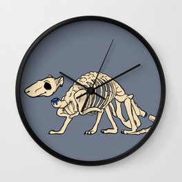 Ghost Rat Wall Clock