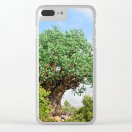 Animal Kingdom Tree of Life Clear iPhone Case