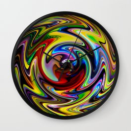 Abstract - Perfection 100 Wall Clock
