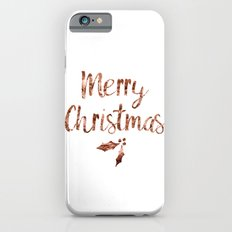 Rose gold Christmas iPhone 6s Slim Case