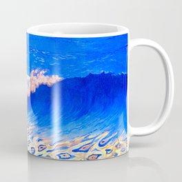 Georges Lacombe - Marine bleue, Effet de vague  - Les Nabis Painting Coffee Mug
