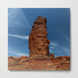 Marvelous Sandstone Formation Metal Print