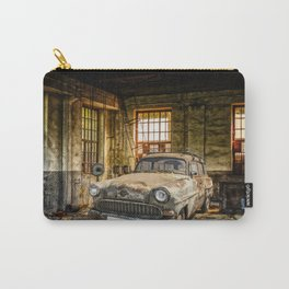 Old Car in a Garage Carry-All Pouch