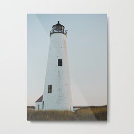 Nantucket Great Point Lighthouse 2  Metal Print