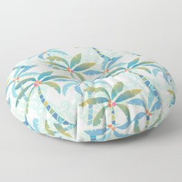 Sun Kissed Palms Floor Pillow