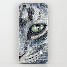 Cat portrait 261 iPhone & iPod Skin