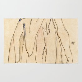 Egon Schiele - Dancer Rug