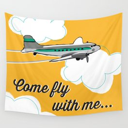 Come fly with me... Wall Tapestry