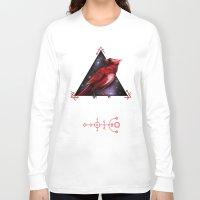 cardinal Long Sleeve T-shirts featuring Cardinal by MyArti