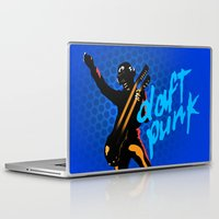 daft punk Laptop & iPad Skins featuring Daft Punk by Alli Vanes