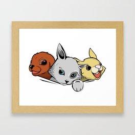 family pet Framed Art Print