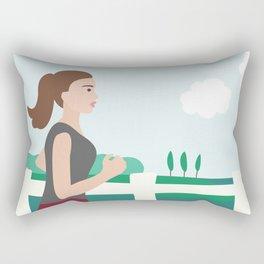 Fresh Air Runner Rectangular Pillow