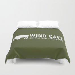 Bison: Wind Cave, South Dakota Duvet Cover