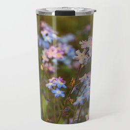 Falling in love with the flowers Travel Mug
