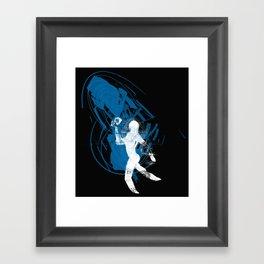 paleo runner Framed Art Print
