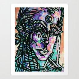 """""""The Sentry"""" (Sorbet) Art Print"""