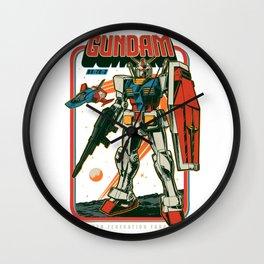 RX 78-2 Gundam Retro Wall Clock