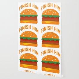 Finish him Wallpaper