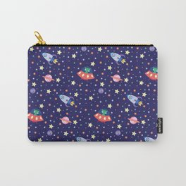 Cosmic Threads - Interstellar Pattern Carry-All Pouch
