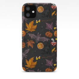 October pattern iPhone Case
