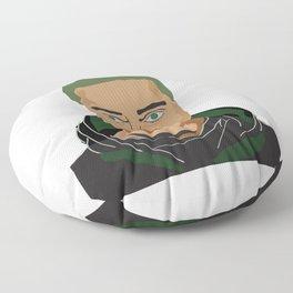 Rami Malek pop art Floor Pillow