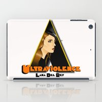 ultraviolence iPad Cases featuring ULTRAVIOLENCE by ELIAOKO