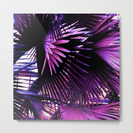 Cool Leaves I Metal Print