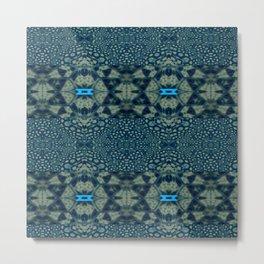 Collaged New Mandala Pattern 16 Metal Print