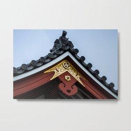 Tempel Roof Metal Print