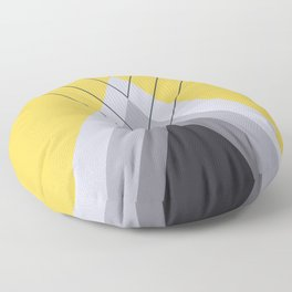 Iglu Primrose Yellow Floor Pillow