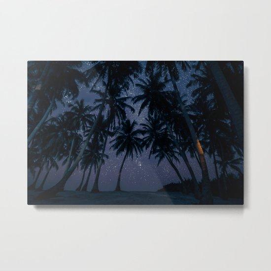 Find Me Under The Palms Metal Print