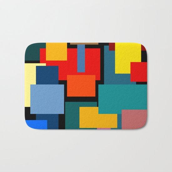 Color Blocks #8-2 Bath Mat