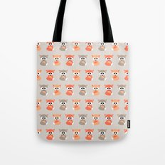 Baby foxes pattern Tote Bag