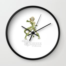Raganas reptile MiniBoss Wall Clock