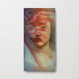 Last century woman Metal Print