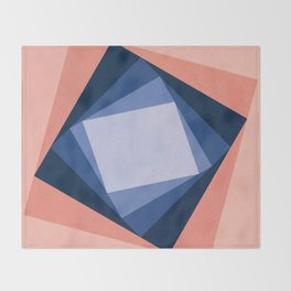 Abstract Square Games Throw Blanket