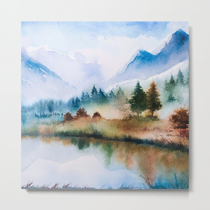 Winter scenery #16 Metal Print