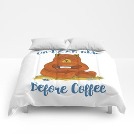 un-BEAR-able without Coffee Comforters