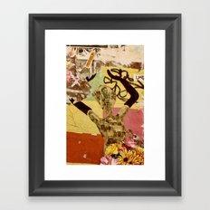 Barcelona Street Art - wall 004 Framed Art Print