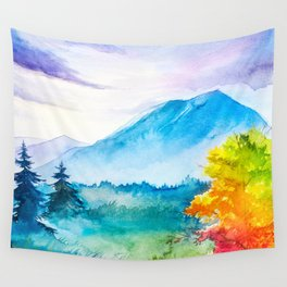Autumn scenery #8 Wall Tapestry