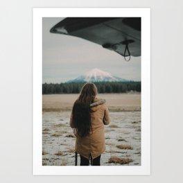 Mountain Chaser Art Print