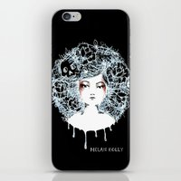 sylvia plath iPhone & iPod Skins featuring Sylvia by Kate Helen Muir