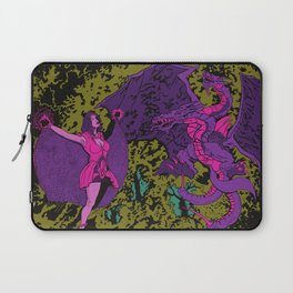 Other Worlds: The Lady and the Dragon Laptop Sleeve