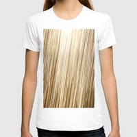 gold glitter T-shirts featuring Gold Glitter 0875 by Cecilie Karoline