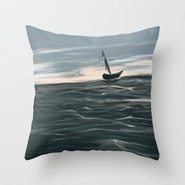 Waters Unknown Throw Pillow
