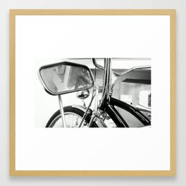 HIPSTER. Framed Art Print
