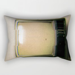 Television Rectangular Pillow